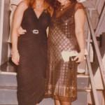 With my cousin Susan Skurow Miami PFA 1984