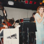 with Bill Conway's Swing Express at the Cat Club in the late 80s