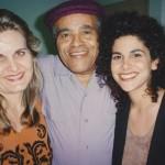 with Jon Hendricks and student Lisa Callicotte