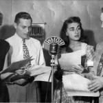 My mom, Edith Leshner live on the air 1940s