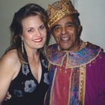 With the king of the Royal Bopsters - Jon Hendricks