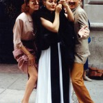 Putting on makeup for the Tony Awards 1990 and we won 6!